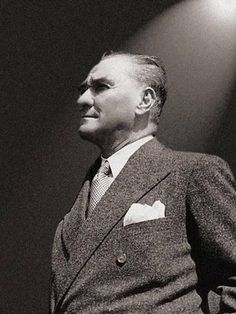 #Mustafa #Kemal #Atatürk Republic Of Turkey, The Republic, Ottoman Turks, The Turk, Turkish Art, Great Leaders, Embedded Image Permalink, My Hero, History