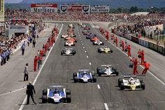 1980 French Grand Prix Start by F1-history on @DeviantArt