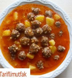 The best How do I make a recipe for juicy vegetable balls? Greenery in the Buc . Chana Masala, Cheeseburger Chowder, The Best, Food To Make, Chili, Salsa, Soup, Vegetables, Ethnic Recipes