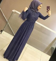 The Amazing - (notitle) - Hijab Outfit, Hijab Gown, Hijab Evening Dress, Hijab Dress Party, Hijab Style Dress, Hijab Chic, Hajib Fashion, Abaya Fashion, Muslim Fashion