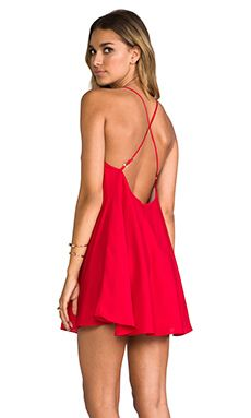 Naven Babydoll Dress в цвете Red Red Dress Outfit, Dress Me Up, Dress Skirt, Dress Outfits, Skater Dress, Dressy Dresses, Sexy Dresses, Short Dresses, Lovely Dresses