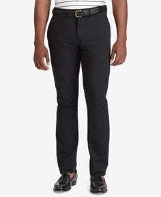 Polo Ralph Lauren Men's Big & Tall Classic-Fit Stretch Chino Pants - Black 36x36