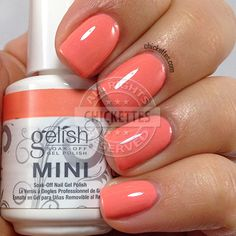 Gelish Cinderella Collection - My Carriage Awaits - swatch by Chickettes.com