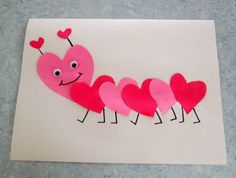 As I have stated before, my daughter loves to do anything that involves glue, paint, and paper. With Valentine's Day right around the corne. Valentine Crafts For Kids, Holiday Crafts, Valentines Day, Arts And Crafts, Paper Crafts, Diy Crafts, Jenni, Art For Kids, February