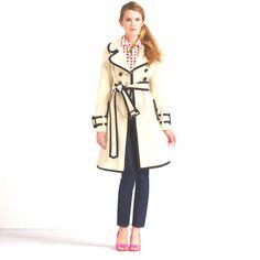 Kate spade coat! Love it!