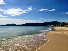 Praia da Cachoeira do Bom Jesus en Florianópolis, SC