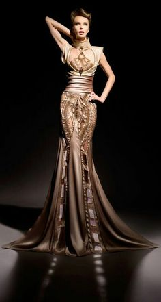 haute couture, formal evening gown