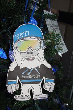 Yeti Christmas Ornaments!