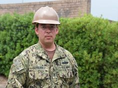 Petty Officer 2nd Class Eduardo Gutierrez is part of a unique group of Americans who serve their country in uniform part-time while also working full-time jobs outside of the military.