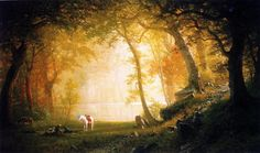 Commission your favorite Albert Bierstadt oil paintings from thousands of available paintings. All Albert Bierstadt paintings are hand painted and include a money-back guarantee. Landscape Art, Landscape Paintings, Oil Paintings, Albert Bierstadt Paintings, Hudson River School, Autumn Painting, Oil Painting Reproductions, Cool Landscapes, Sculpture