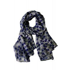 Elephant Parade scarf by Printed Village
