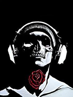Skull by Line Jss