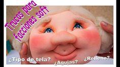 Basic Face making Videotutorial Primitive Doll Patterns, Sculpting Tutorials, Backpack Pattern, Polymer Clay Dolls, Doll Maker, Etsy Crafts, Soft Dolls, Soft Sculpture, Handmade Design