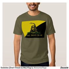 Gadsden (Don't Tread on Me) Flag T-shirts
