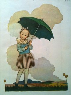 Susan Beatrice Pearse (1878–1980), from Ameliaranne and the Green Umbrella, 1920