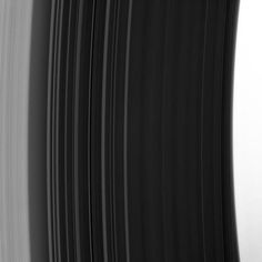 The rings of Saturn as seen by Cassini yesterday