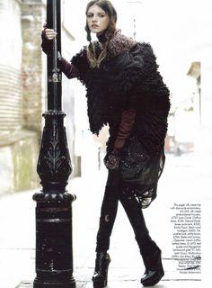 ru_glamour: Jeisa Chiminazzo - Harpers Bazaar UK November 2008