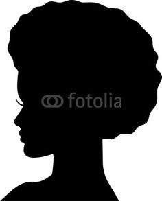 this shall be on my desk! Black Woman Silhouette, Silhouette Clip Art, Girl Silhouette, Silhouette Portrait, Black Girl Art, Black Women Art, Diva Quotes, Afro Men, African Crafts