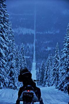 The Norway-Sweden border