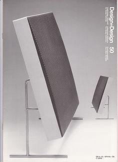 Design+Design magazine, number 50, Dec 1999 featuring a LE 1 loudspeaker unit (des. Dieter Rams, 1959). Photo by Jo Klatt