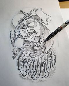 Sometime you have to re-draw. Graffiti Drawing, Graffiti Lettering, Street Art Graffiti, Cool Drawings, Drawing Sketches, Pin Up Girl Tattoo, Arte Do Kawaii, Graffiti Characters, Black Ink Tattoos