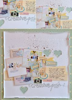 Wilna from the October Afternoon blog! I love the smaller images of her layouts :)