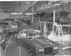 Rolls Royce Assembly line in Crewe