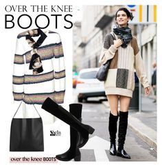 """""""Rock On: Over-The-Knee Boots 2"""" by paculi ❤ liked on Polyvore featuring Kenzo, OverTheKneeBoots, fall2015 and shein"""