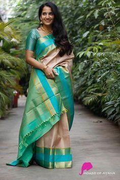 Kanchipuram silk sarees shop in chennai bridal kanchipuram sarees - house of ayana. Indian Bridal Sarees, Bridal Silk Saree, Indian Silk Sarees, Soft Silk Sarees, Indian Beauty Saree, Silk Sarees Online Shopping, Saree Shopping, Cotton Sarees Online, Saree Blouse Neck Designs