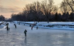 Evening Skate… Trent - Severn Canal, Peterborough, ON. Peterborough Ontario, O Canada, Architecture Art, Interior And Exterior, Skate, Roots, Outdoor, Outdoors, Outdoor Games