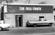 Photo of 'Old Miami' when it was 'New Miami'. 1980s - Photo by Frank Smitka - image via Old Detroit fb webpage