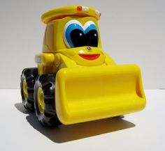 John Deere Licensed Johnny Tractor and Friends- Yellow Luke Loader: Toys & Games
