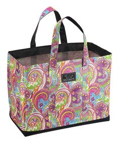 SCOUT by Bungalow Pink  amp  Purple Paisley Original Deano Tote by SCOUT by  Bungalow   2da3a0957b543