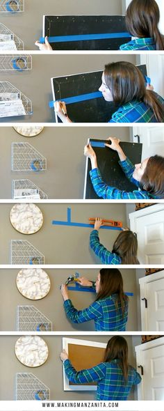 The Easy Way To Hang A Picture | How To Hang A Picture | Using Painter's Tape to Hang A Picture | Picture Hanging Tips | How to Hang Wall Decor | Picture Hanging Hack | How to hang art on your walls | Frame hanging tutorial | Simple way to hang picture on