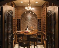 while I'm not drinking now, I'm a huge wine fan/wine drinker who loves to learn about wine. In my new future house, I want a small wine room so bad.