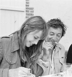 Jane birkin & Serge Gainsbourg.