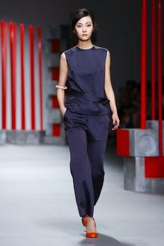 Eudon Choi Ready To Wear Fall Winter 2015 London - NOWFASHION