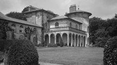 Cronkhill, an Italianate villa designed by John Nash on the Attingham Estate, Shrewsbury.