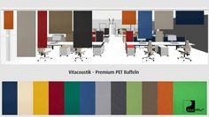 vitAcoustic - Panel Curtains - PREMIUM PET Vitacoustic PREMIUM PET Polyethylen Akustikvorhänge Zuschnitte für individuelle Anwendungen