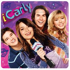 Start the show with these iCarly Paper Dinner plates! Each square plate measures 10 inches by 10 inches and features Carly, Sam, Freddy, and Spencer on an out of this world purple and pink background