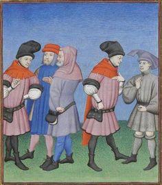 Publius Terencius Afer, Comoediae [comédies de Térence] ca. 1411;  Bibliothèque de l'Arsenal, Ms-664 réserve, 121r