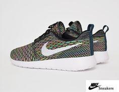 ec397a889b90 Nike Roshe Run Flyknit Multi - sympa!! Adidas Shoes Outlet