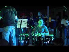 """Plaza Pública de Luquillo. En tarima estuvo, San Juan Collective, Paoli Mejias , Emanuel Benjamin Quartet y Charlie Sepulveda presentando su mas reciente disco titulado """"Luquillo Blues""""."""