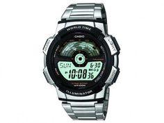 Relógio Masculino Casio AE-1100WD-1AVDF - Digital Resistente à Água Calendário com as melhores condições você encontra no Magazine Rioleal. Confira!
