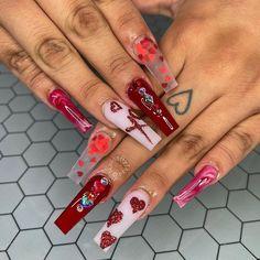 La Nails, Bling Nails, Glitter Nails, Bailarina Nails, Encapsulated Nails, Tye Dye, Nail Tech, Glittery Nails, Tie Dye