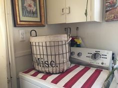 We all need a Misc. place and this basket from Hobby Lobby was just the thing I wanted for my misc. stuff :) What do you use? Hamper, Hobby Lobby, Home Organization, Basket, Stylish, Storage, Home Decor, Purse Storage, Decoration Home