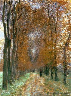 Claude Monet - L'Allée