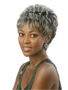 Capless Short Curly Synthetic Hair Wig- Like Fl-BEEBEE Wig Style 4Inches