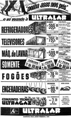 Novo Milênio: Histórias e Lendas de Santos: Propaganda santista - 1967