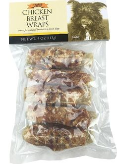 Trader Joe's Chicken Breast Wraps (2 Packs) -- Want additional info? Click on the image. (This is an affiliate link) #DogLovers